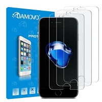 amovo iphone 7 screen protector premium hd 033mm round