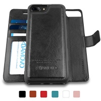 amovo iphone 8 plus case 2 in 1 wallet