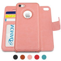 amovo iphone se case wallet detachable