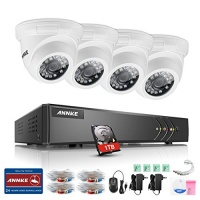 annke 8 channel 5 in 1 security system 1080p lite video dvr