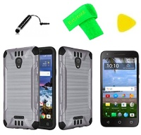 brush hybrid cover phone case screen protector extreme band