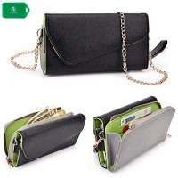 cellphone wallet wristlet case new holds phonecardscash