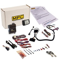 complete 1 button remote start kit compatible with select