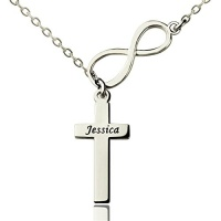 custom personalized necklaces cross name necklace pendant