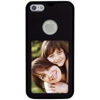 diy black photo iphone 55s cover