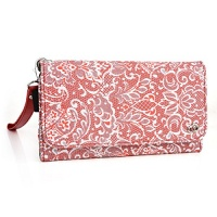 fashion wallet case red rouge multi purpose organizer id
