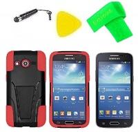 heavy duty hybrid w kickstand phone cover case cell