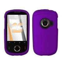 huawei m835 m 835 purple rubber feel snap on cover hard
