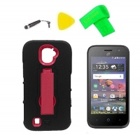 hybrid cover case phone screen protector extreme band