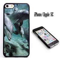 iphone 5c case customized black soft rubber iphoneapple