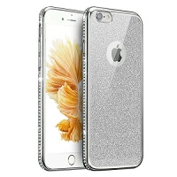 iphone se case 5s uzzo electroplate glitter