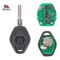 keyecu ews remote key fob 3button 315mhz id44 chip for bmw