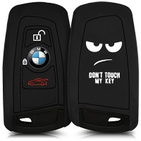 kwmobile silicone case for 3 button remote car key only