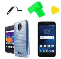 lining brushed hybrid cover phone case screen protector