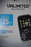 net 10 pre paid huawei h210c cell phone