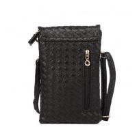 phevos cell phone wallet case pu leather bag mini crossbody