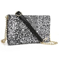 phone holder crossbody purse w credit card slots and quick