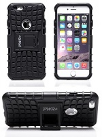 pwr apple iphone 6 6s protective case cover with stand