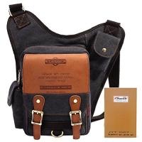 retro casual shoulder backpack sports canvas handbag