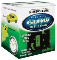 rust oleum 214945 glow in the dark 7 ounce 6 pack by