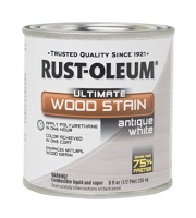 rust oleum 287981 antique white ultimate wood stain 2 pint