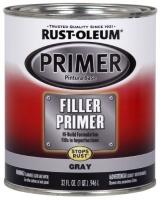 rust oleum automotive 254863 32 ounce filler primer quart