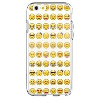 shark cool smiley faces emoji funky case for apple iphone 6