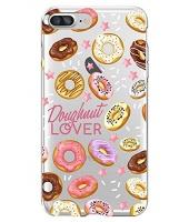 shark sweet donut doughnut pattern case for iphone 66s plus