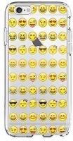 shark transparent cool smiley faces emoji funky case for