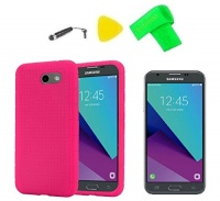 silicone gel skin cover phone case screen protector extreme
