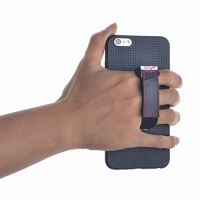 soft case cover with stiff belt stand for iphone 6 plus