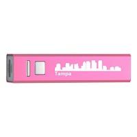 tampa florida portable 2600 mah cell phone charger pnk