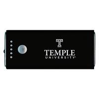 temple university portable cell phone 5200 mah power bank