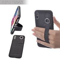 tfy 3 in 1 design case cover stand hand strap holder for