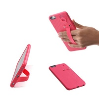 tfy hand strap holder stand with soft case cover for iphone
