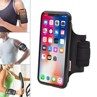 tfy open face sport armband holder detachable case for