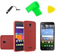 tpu flexible gel skin cover phone case screen protector