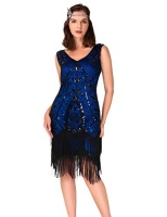 womens 1920s inspired art deco gatsby dresses vintage