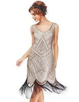 womens roaring 20s v neck gatsby dresses vintage inpired