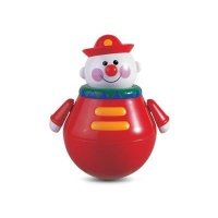 tolo roly poly chiming clown musical toy