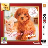 nintendogs cats toy poodle and new friends select nintendo other game