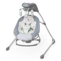 ingenuity inlighten crading swing rocker twinkle pram stroller