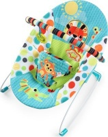 bright starts vibrating bouncer kaleidoscope safari pram stroller