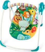 bright starts portable swing safari surprise pram stroller
