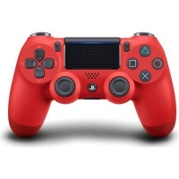 sony playstation dualshock 4 v2 controller magma red ps4 accessory