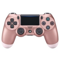 sony playstation dualshock 4 wireless controller rose gold ps4 accessory