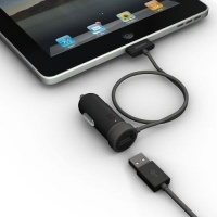 xtrememac incharge auto lightning car charger tablet accessory