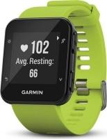 garmin forerunner 35 gps running watch lime green gp