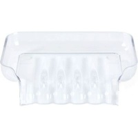 better living trickle tray soap dish white bathroom accessory