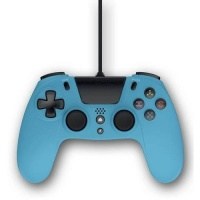 gioteck vx 4 wired controller for ps4 blue ps4 console